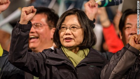 Who is Tsai Ing-wen, Taiwan's newly-elected president?